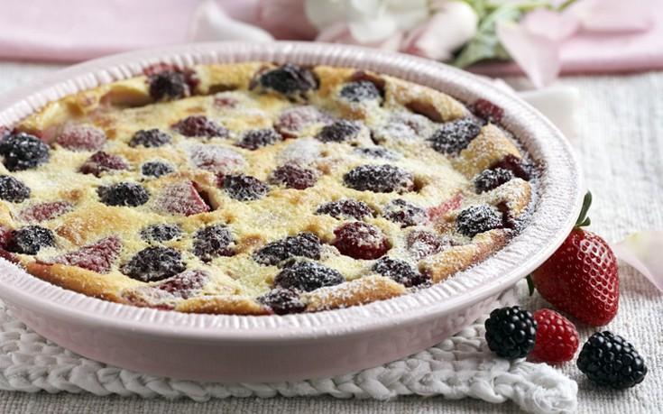 Berry clafoutis