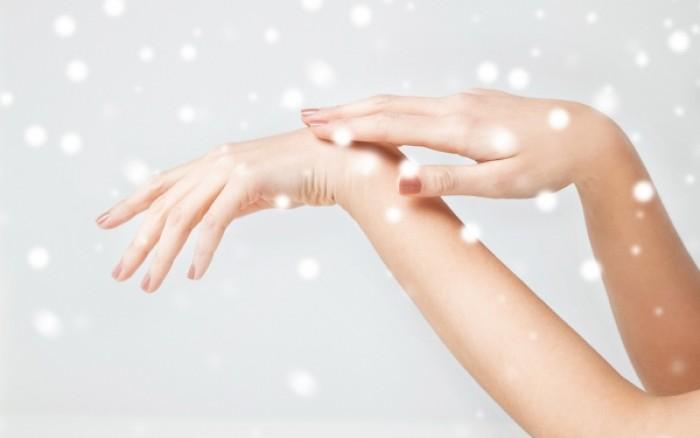 Πέντε βήματα για να προστατέψετε το δέρμα σας από το κρύο
