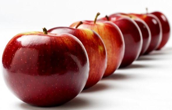 Πως να λάμψετε με τη βοήθεια του μήλου