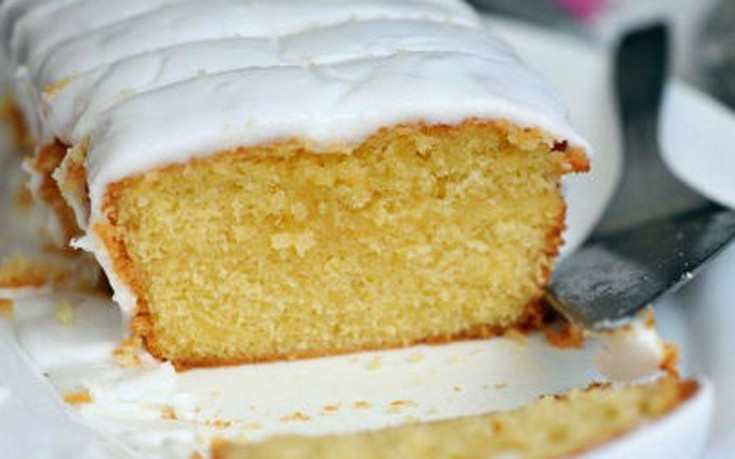 Κέικ με γεύση λεμόνι