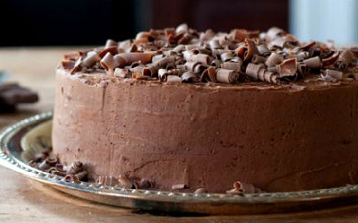 Κέικ σοκολάτας με άρωμα εσπρέσο
