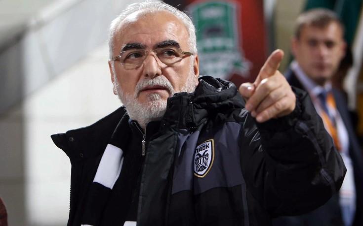 Σαββίδης: θέλω να με θάψουν με τη στολή του ΠΑΟΚ