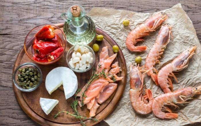 Μεσογειακή διατροφή: Η πυραμίδα των τροφών που περιλαμβάνει (γράφημα)
