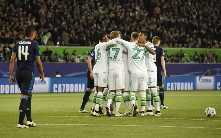 «Σόκαρε» την ποδοσφαιρική Ευρώπη το 2-0 της Βόλφσμπουργκ επί της Ρεάλ