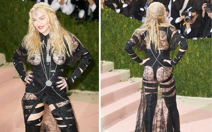 Madonna: Πολιτική δήλωση η εμφάνισή μου με τα οπίσθια και το στήθος σε κοινή θέα!