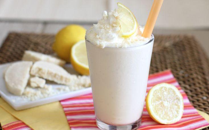 Milkshake λεμόνι