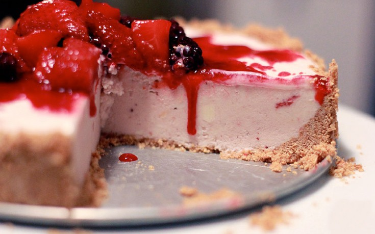 Cheesecake παγωτό
