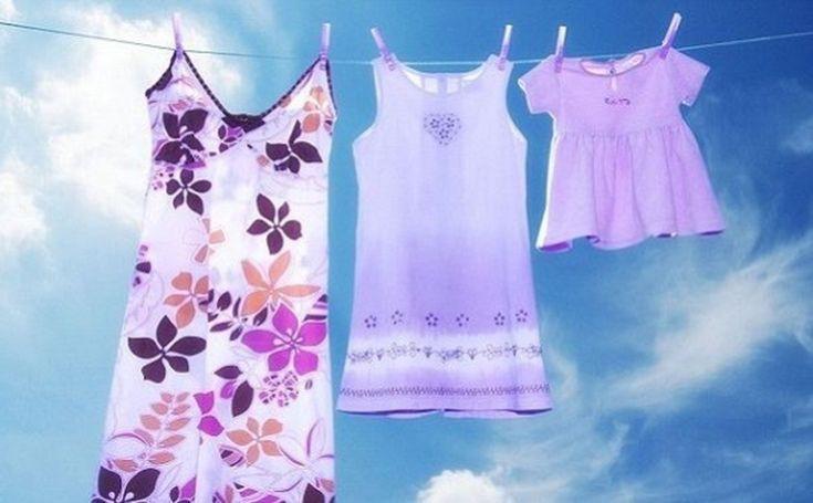 Γιατί πρέπει να πλένουμε οπωσδήποτε τα καινούρια ρούχα πριν τα φορέσουμε στα παιδιά