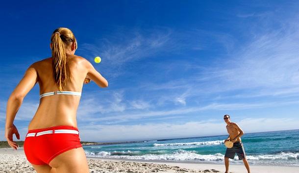 Άσκηση στις διακοπές