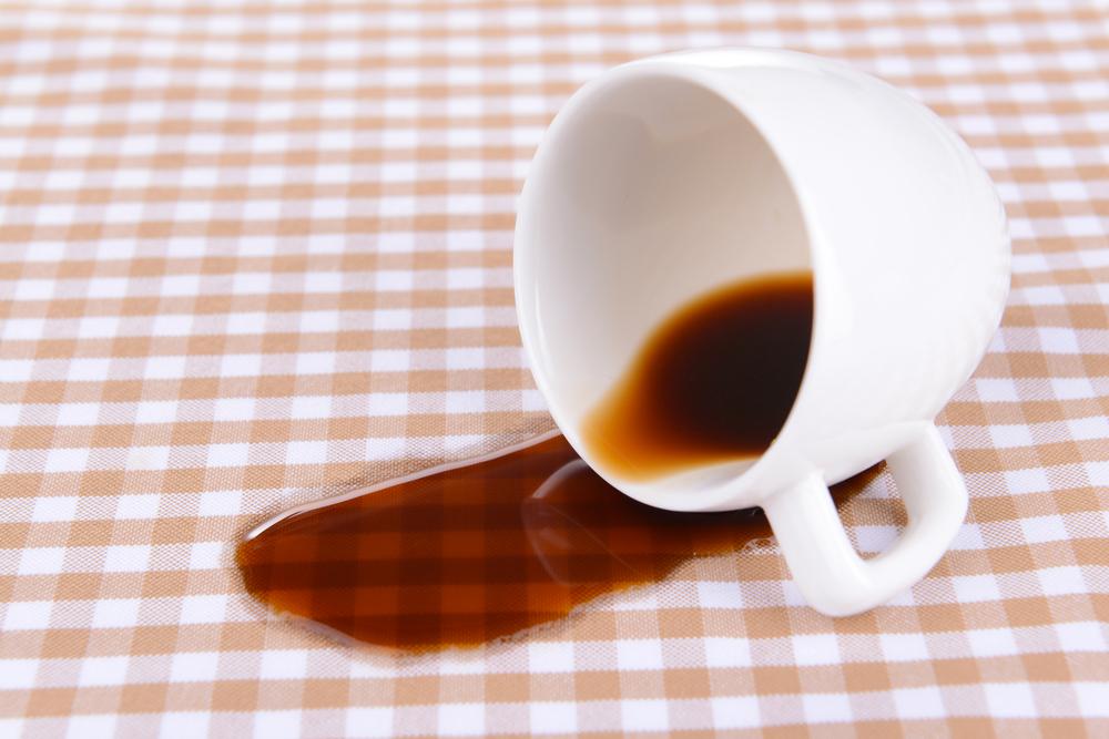 Αυγό για τον λεκέ από καφέ!