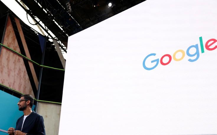 «Καταπληκτική ατμόσφαιρα» στη Google για τα έσοδα της Alphabet