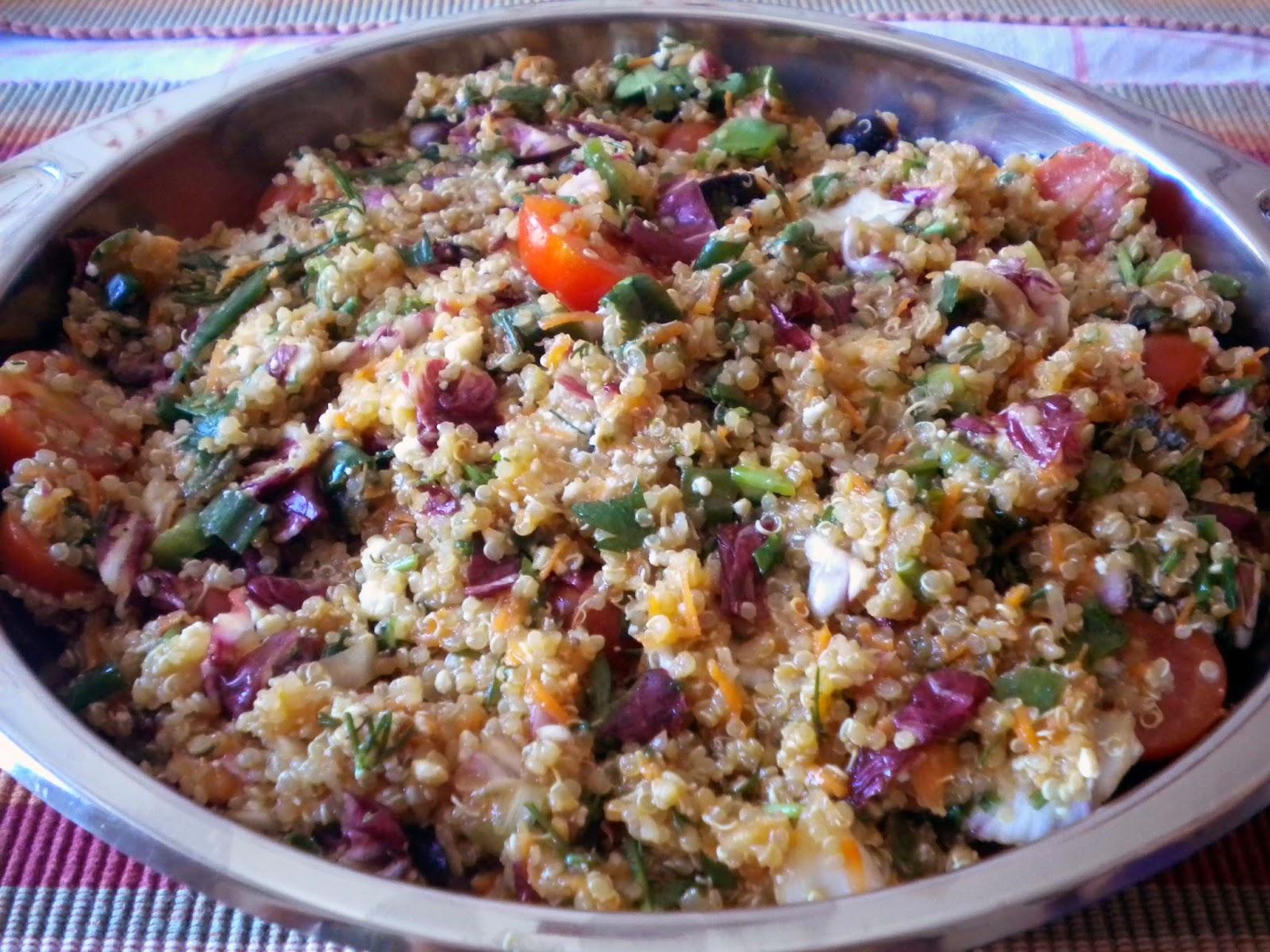 Κινόα με λαχανικά στο φούρνο