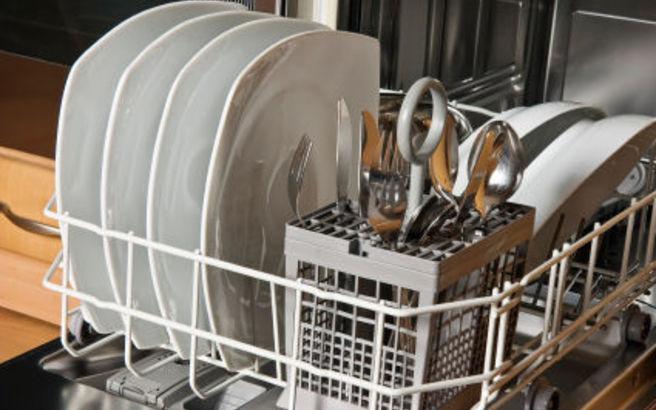 Σπιτικό γυαλιστικό για το πλυντήριο πιάτων