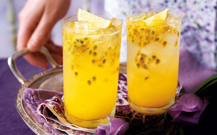 Αναψυκτικό με φρούτα του πάθους
