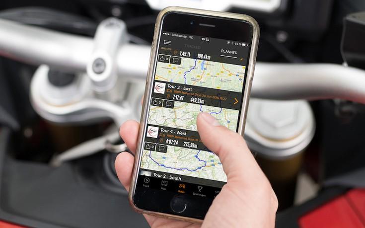 Η BMW επενδύει σε «έξυπνη» εφαρμογή για μοτοσυκλετιστές