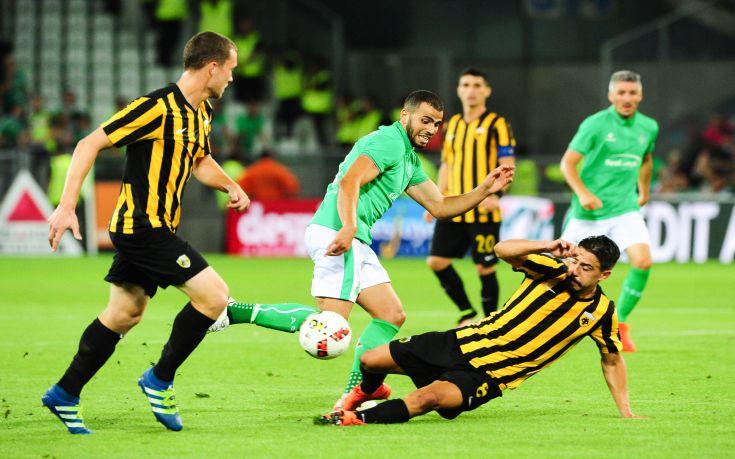 Κάλεσμα της ΑΕΚ για το μεγάλο ματς με τη Σεντ Ετιέν