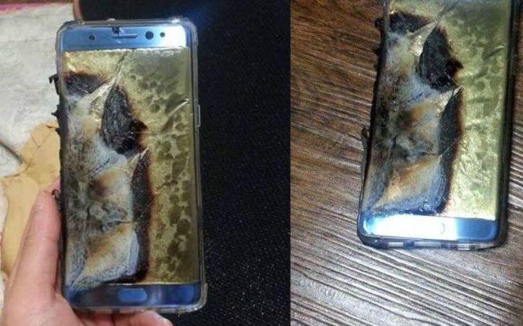 Η Samsung ανακαλεί τα Galaxy Note 7 μετά από εκρήξεις της μπαταρίας