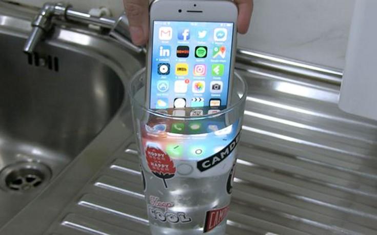 Πόσο αδιάβροχο είναι το νέο iPhone;