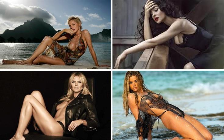 Γυναίκες celebrities που γερνούν όμορφα