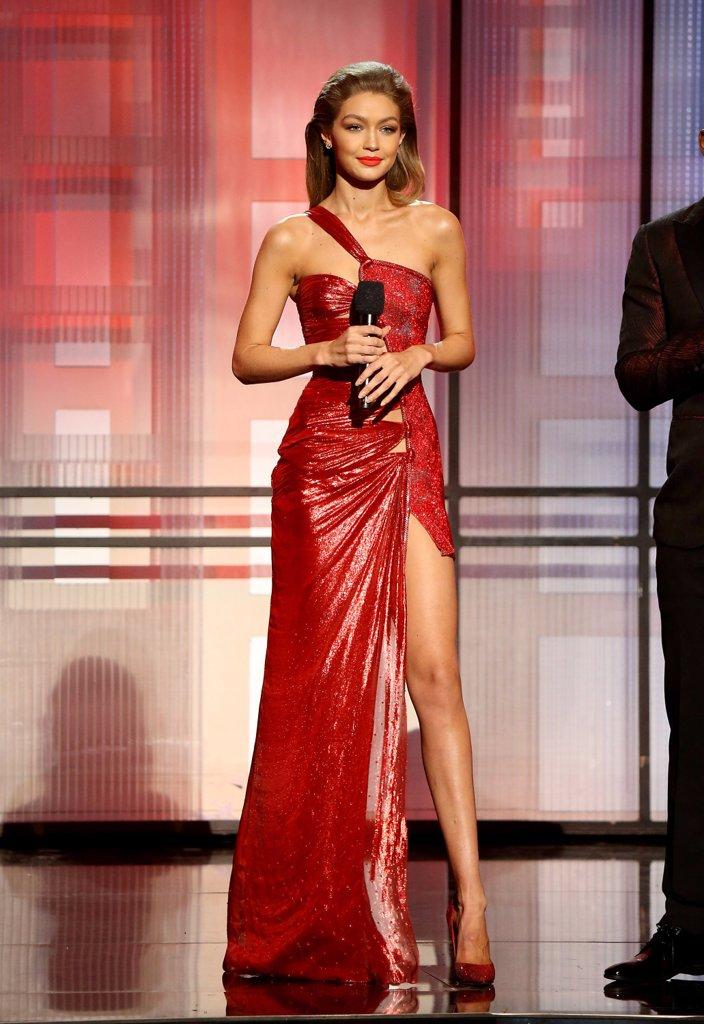 Gigi Hadid American Music Awards Outfits 2016
