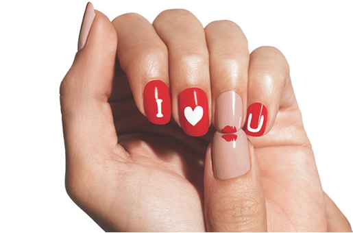 valentines nails valentines nail paint finger nails for valentine