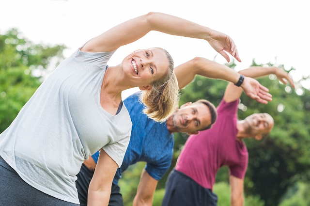 bigstock Group of mature healthy people 187133974
