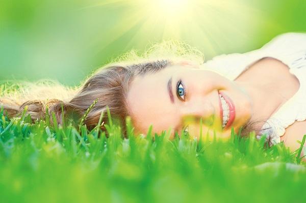 bigstock Beautiful teenage Girl lying o 174706720