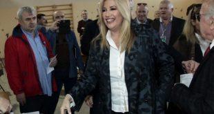 Γεννηματά: Με τους ΣΥΡΙΖΑΝΕΛ τα εθνικά θέματα υποχωρούν, η Δημοκρατία είναι σε κίνδυνο