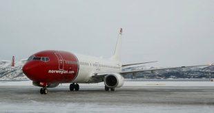 Απειλή για βόμβα σε αεροσκάφος των νορβηγικών αερογραμμών