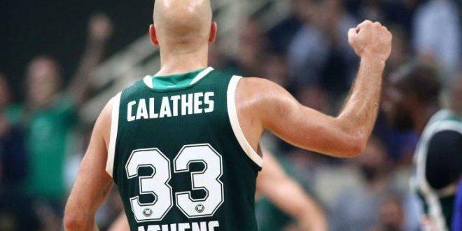 Ο Καλάθης στο Top 10 των ασίστ του Φεβρουαρίου στην Euroleague