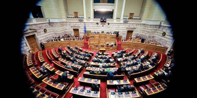 Ερώτηση για τα περιστατικά οπαδικού χουλιγκανισμού και έμφυλης βίας στη Βουλή