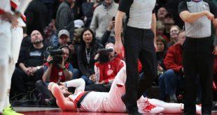 Σοκαριστικό βίντεο από παίκτη που σπάει το πόδι του σε αγώνα μπάσκετ