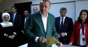 Ψήφισε ο Ρετζέπ Ταγίπ Ερντογάν