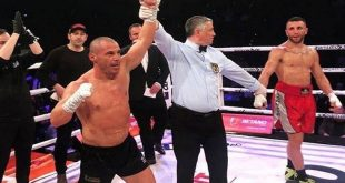 Ο Ζαμπίδης αγωνίστηκε με κομμένο δικέφαλο και κέρδισε