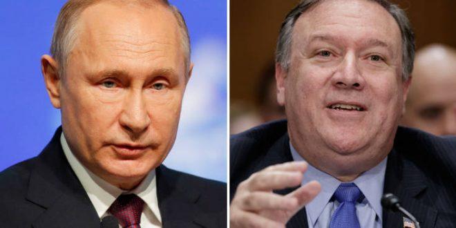 Ρωσία-ΗΠΑ: Πιθανή η συνάντηση Πομπέο-Πούτιν στο Σότσι
