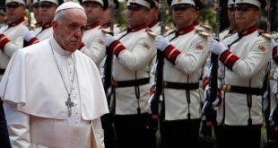 Μήνυμα ειρήνης και ενότητας απηύθυνε ο Πάπας Φραγκίσκος στα Σκόπια