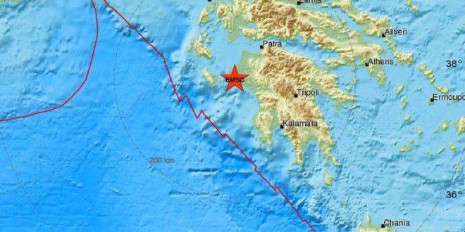 Νέος σεισμός τώρα στην Πελοπόννησο