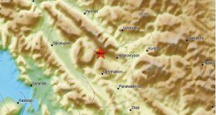 Σεισμός τώρα στα ελληνοαλβανικά σύνορα