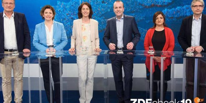 Ευρωεκλογές 2019: Κλίμα και μετανάστευση τα θέματα τηλεοπτικής αντιπαράθεσης των γερμανικών κομμάτων