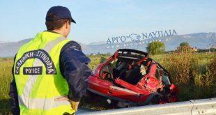 Σοκάρουν οι εικόνες από τροχαίο στο Άργος
