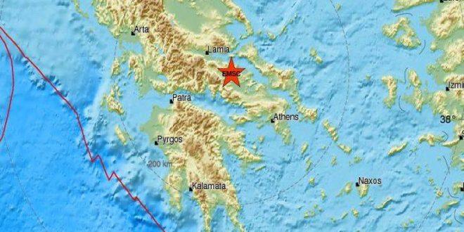 Σεισμός τώρα στην Αταλάντη