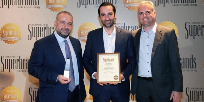 Διάκριση για την Green Cola στα Corporate Superbrands Greece 2019
