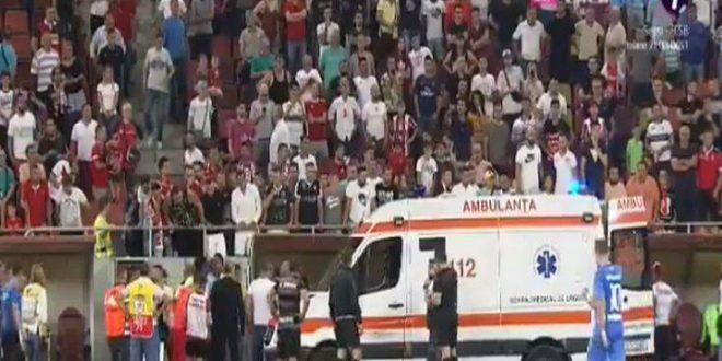 Κατέρρευσε στο γήπεδο ο προπονητής της Ντιναμό Βουκουρεστίου