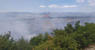Ενισχύονται οι πυροσβεστικές δυνάμεις στη φωτιά στον Παρνασσό