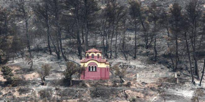 Τι κάηκε στην Εύβοια, η δορυφορική καταγραφή της καταστροφής