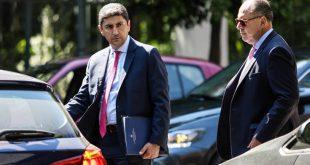Συνάντηση του Λ. Αυγενάκη με τους προέδρους ΕΠΟ και Super League τη Δευτέρα