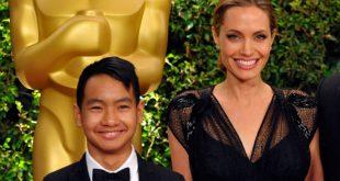 O γιος της Ατζελίνα Τζολί πάει για σπουδές και η μητέρα του τον αποχαιρετά δακρυσμένη