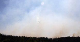 Φωτιά στην περιοχή Βροντερό Φλώρινας