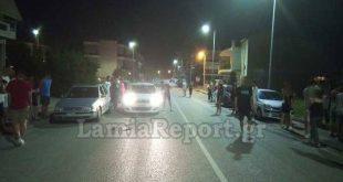 Τροχαίο με μηχανή στη Λαμία και μαρτυρίες πολιτών για αυτοσχέδιους αγώνες