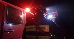 Αισιόδοξα μηνύματα για τη φωτιά που ξέσπασε το απόγευμα στη Σαμοθράκη
